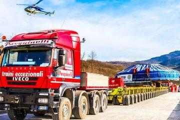 Trasporti Eccezionali nazionali e internazionali