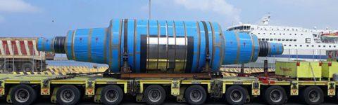 Pasquinelli trasporta rotori e arrotolatori dall'Italia alla Cina